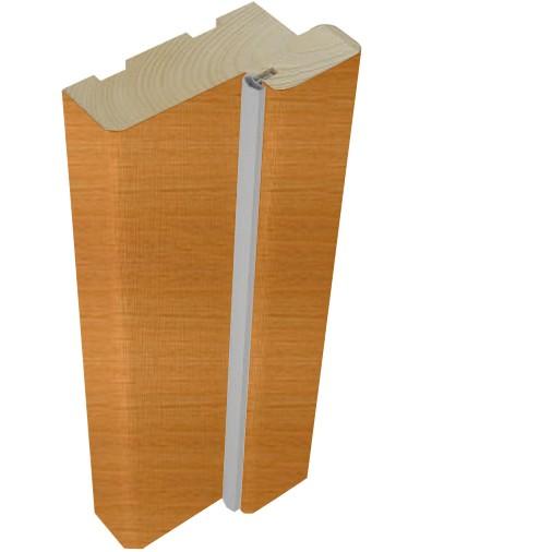 Стойка дверной коробки Belwooddoors Тип 40 Дуб радиал, 2100х74х34 мм