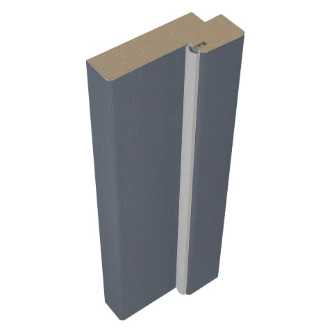 Стойка дверной коробки Belwooddoors Тип 50 Антрацит фанерованная, 2100х71х28 мм