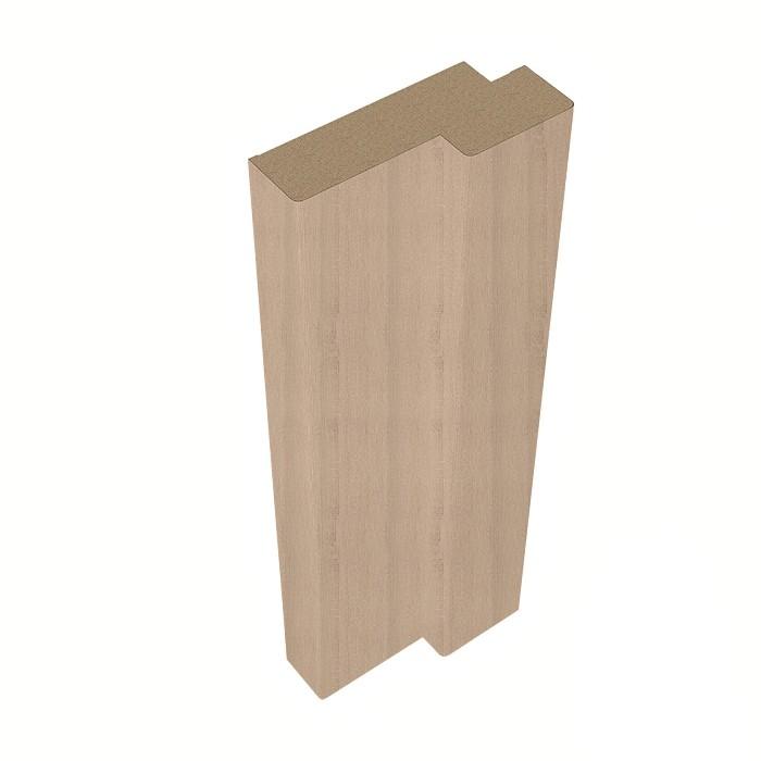 Стойка дверной коробки Belwooddoors Тип 5 Дуб Дорато фанерованная, 2100х71х28 мм