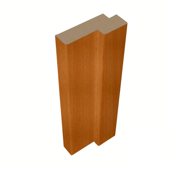 Стойка дверной коробки Belwooddoors Тип 5 Миланский орех фанерованная, 2100х71х28 мм