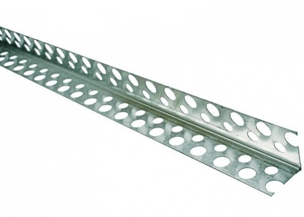 Купить Профиль ПУ малярный алюминиевый 22х22 мм, 3 м — Фото №1