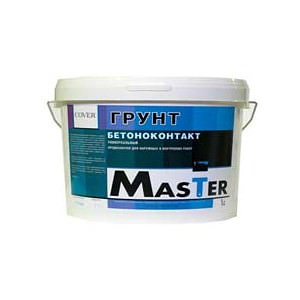 Купить Грунтовка для бетона Cover color Master Бетоноконтакт, 20 кг — Фото №1