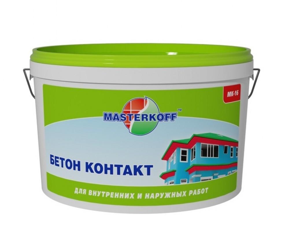 Купить Бетоноконтакт Masterkoff МК-16, 5 кг — Фото №1
