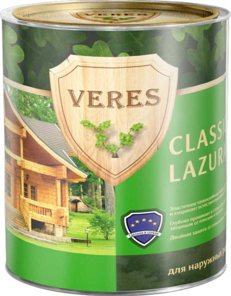 Veres Classic, 10 л, Антисептик палисандр