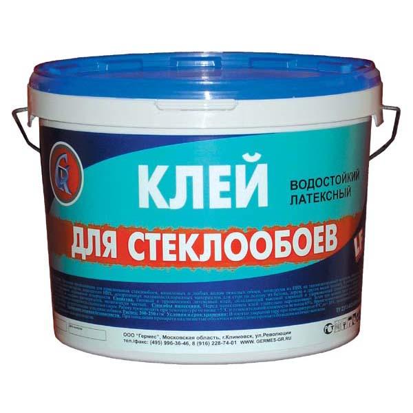 Купить Обойный клей готовый Гермес для стеклообоев, 10 кг — Фото №1