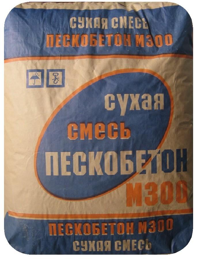 Купить Пескобетон Подольск М300, 40 кг — Фото №1