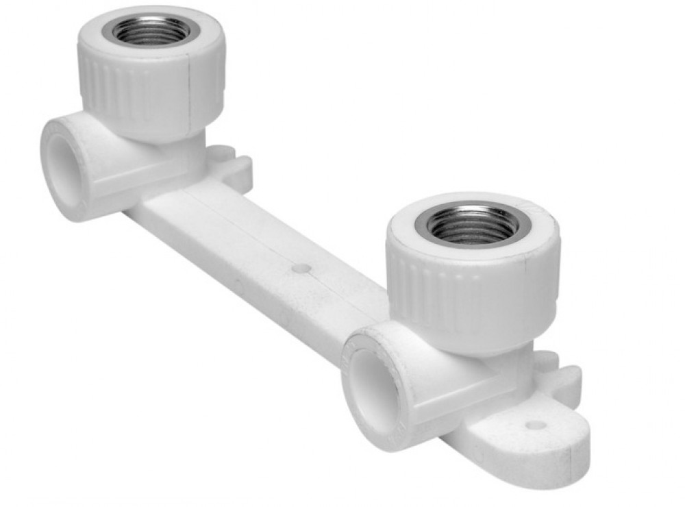 Купить Монтажная планка для смесителя настенная, диаметр 20 мм — Фото №1