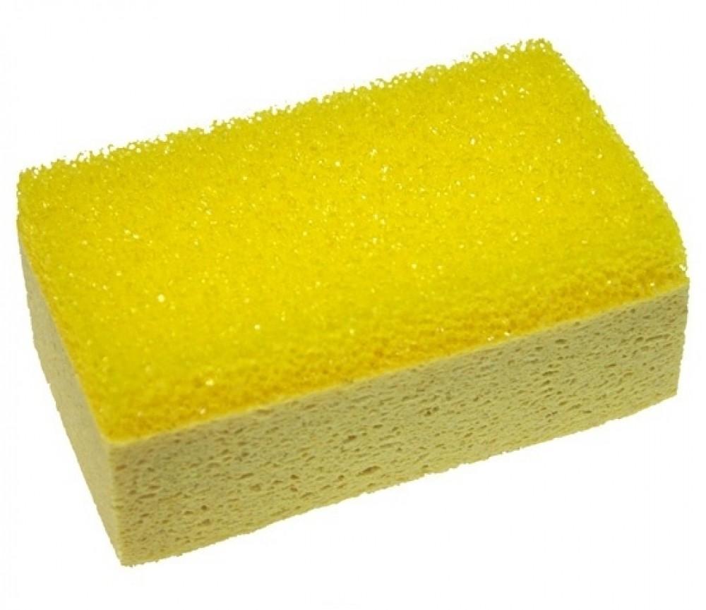 Купить Губка целлюлозная комбинированная для уборки затирки — Фото №1