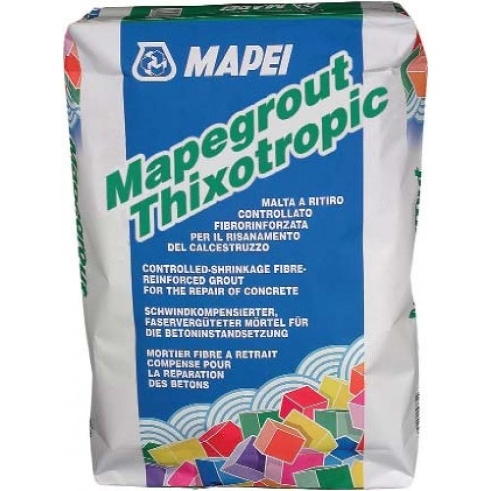 Купить Ремонтный состав Mapei Mapegrout Thixotropic (серый), 25 кг — Фото №1