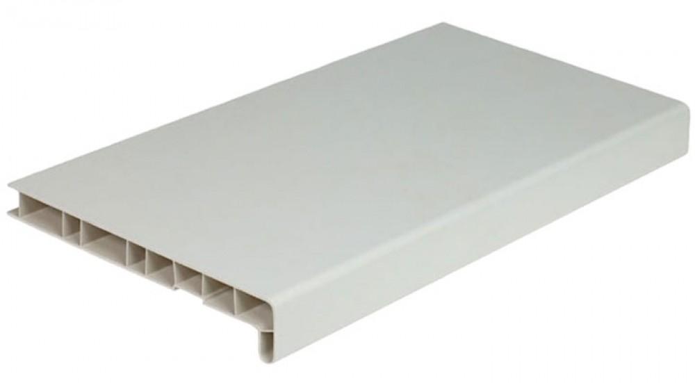 Купить Подоконник ПВХ Moeller (белый глянцевый), ширина 15 см — Фото №1