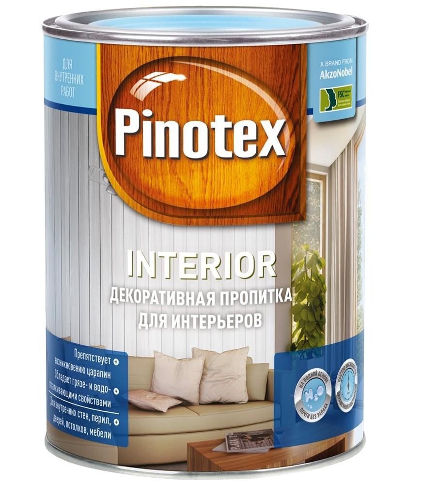 Купить Pinotex Interior, 2.7 л. прозрачная