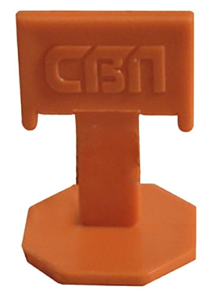 Купить Система выравнивания плитки СВП, Зажим 5-12 мм (500 штук) — Фото №1