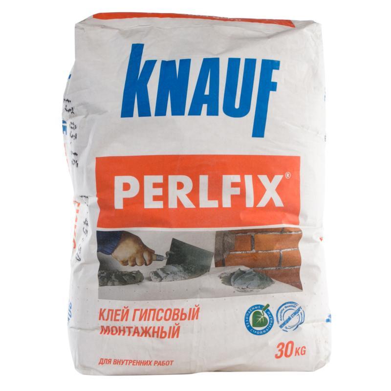 Купить Смесь монтажная гипсовая Knauf Perlfix, 30 кг — Фото №1