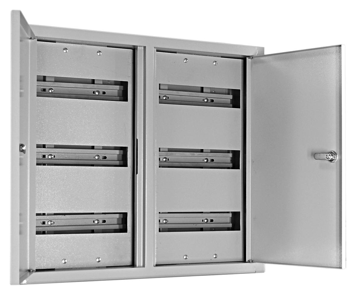 Щит распределительный встраиваемый на 72 модуля ABB U32E, размер 534x560x120 мм
