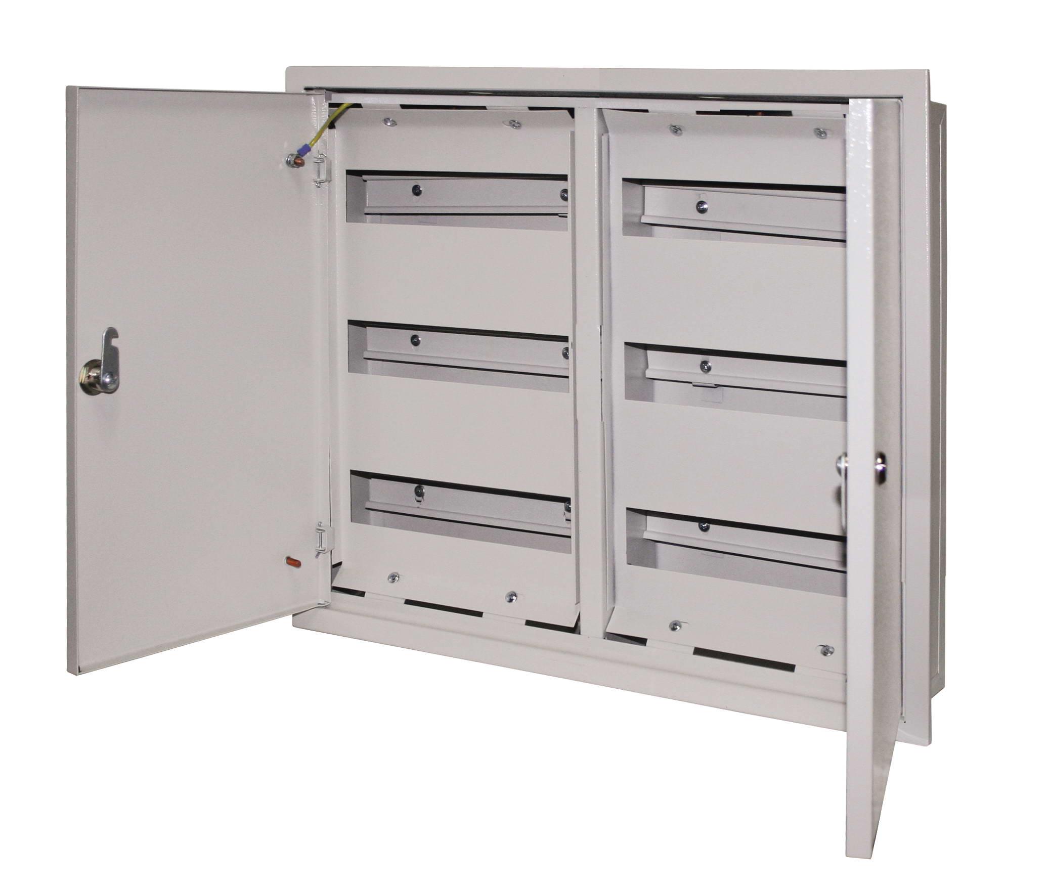 Щит распределительный встраиваемый на 144 модуля ABB U62, размер 984х560х120 мм