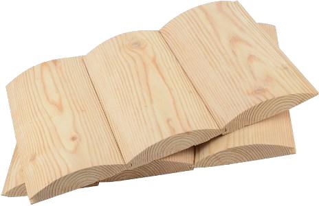 Купить Блок-хаус из лиственницы сорт В, 28х135 мм, длина 4 м