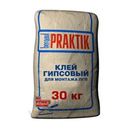 Купить Смесь монтажная гипсовая Bergauf Praktik, 30 кг — Фото №1