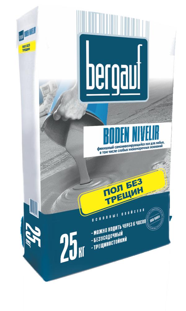 Купить Наливной пол самовыравнивающийся Bergauf Boden Nivelir, 25 кг — Фото №1