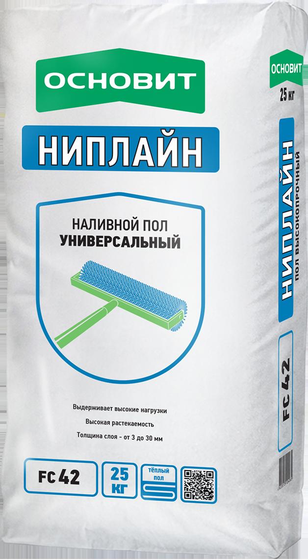 Купить Наливной пол Основит Ниплайн FC42, 25 кг — Фото №1
