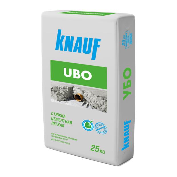 Купить Стяжка пола лёгкая Knauf Ubo, 25 кг — Фото №1