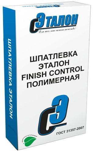 Купить Шпатлевка полимерная финишная Эталон Finish Control (белая), 20 кг — Фото №1
