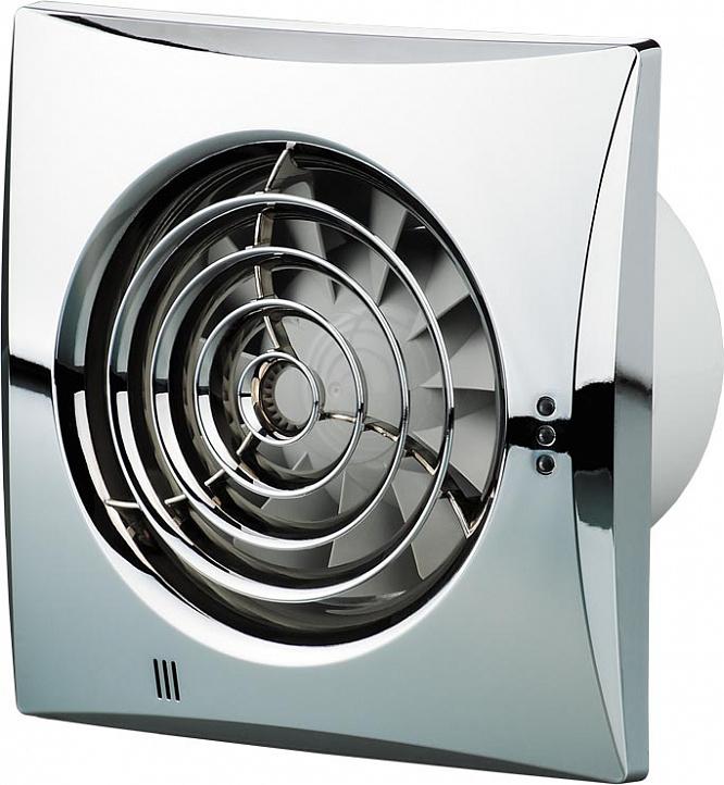 Купить Вентилятор вытяжной Вентс Квайт (хром), 100 мм — Фото №1