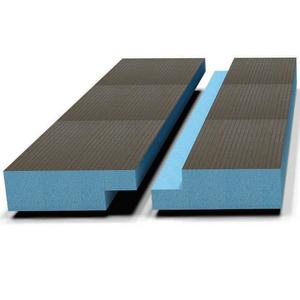 Звуко-теплоизоляционная панель STUROFOAM DOW РПГ 20, 2485х585х20мм, 1.5м2, 2-ст. четверть