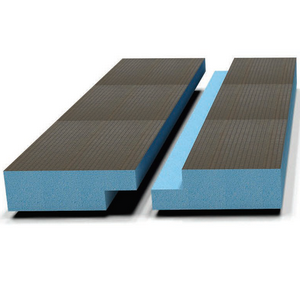 Звуко-теплоизоляционная панель STUROFOAM DOW РПГ 30, 2485х585х30мм, 1.5м2, 2-ст. четверть