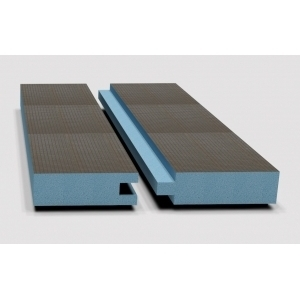 Звуко-теплоизоляционная панель STUROFOAM DOW РПГ 80, 2485х585х80мм, 1.5м2, 2-ст. арм, шип-паз