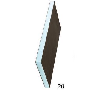 Звуко-теплоизоляционная панель STUROFOAM RPG 20 XPS 2500х600х20мм, 1.5м2, 2-ст, армирование