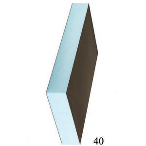Звуко-теплоизоляционная панель STUROFOAM RPG 40 XPS 2500х600х40мм, 1.5м2, 2-ст, армирование