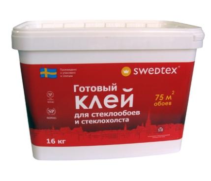 Клей для стеклообоев Swedtex, 16 кг