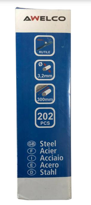 Электроды Awelco AWS E6013, диаметр 3.2 мм (202 шт)