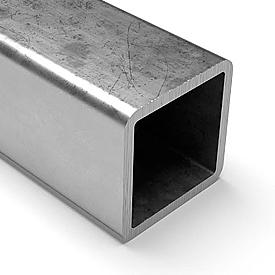 Труба профильная квадратная 100х100 мм, толщина стенки 7 мм