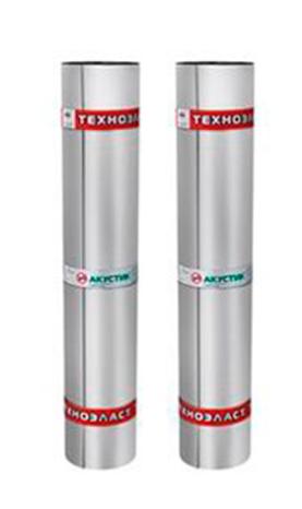Шумоизоляция Технониколь Техноэласт Акустик Супер А350, 10000х1000х4 мм