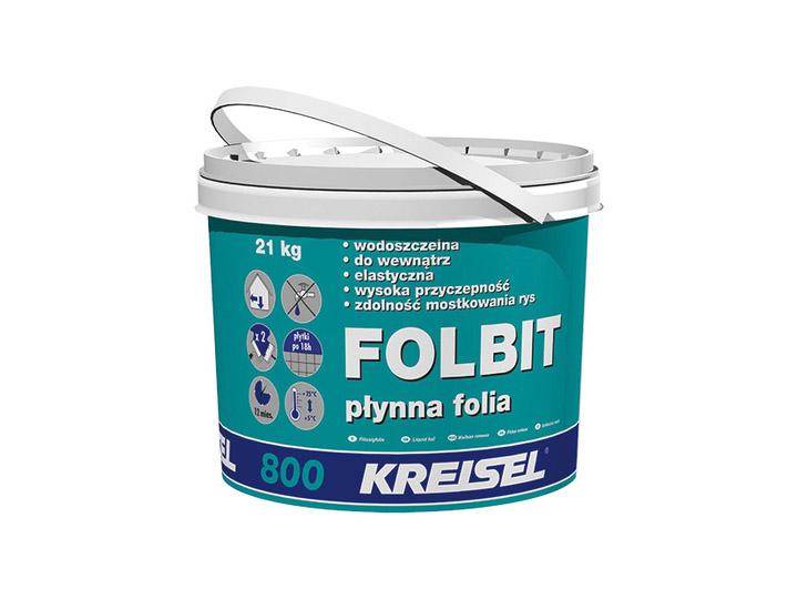 Пленка жидкая гидроизоляционная Kreisel Folbit 800, 21 кг