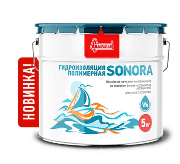 Гидроизоляция полимерная SONORA 5 кг, Старатели