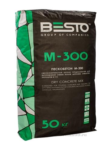 Купить Пескобетон Besto М300, 50 кг — Фото №1