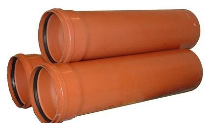 Труба канализационная наружная Стандарт 110 мм, длина 0.5 м