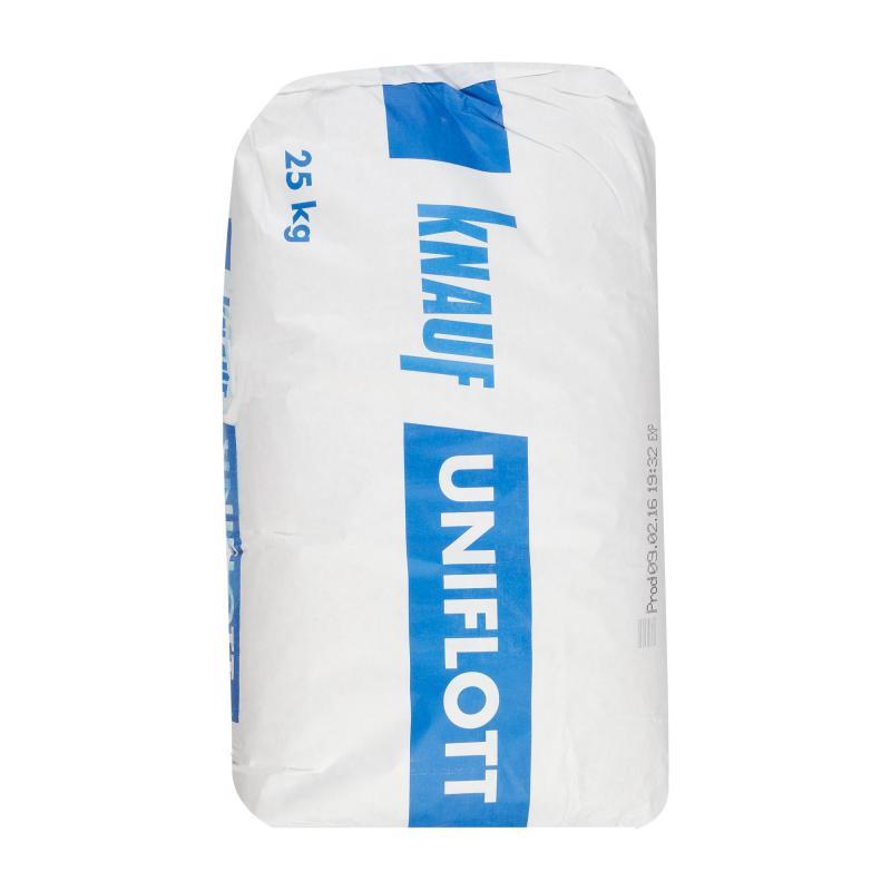 Купить Шпатлевка высокопрочная Knauf Унифлот, 25 кг — Фото №1