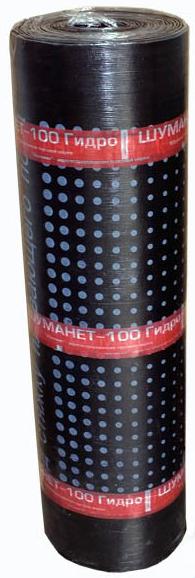 Купить Звукоизоляция Шуманет-100 Гидро, 10000х1000х5 мм (1 плита/10 м2) — Фото №1