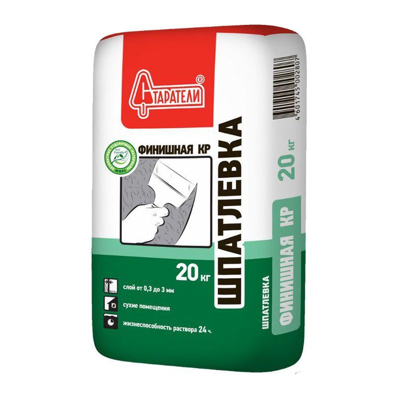 Купить Шпатлевка полимерная Старатели Финишная КР (белая), 20 кг — Фото №1