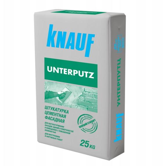 Купить Штукатурка фасадная Knauf Унтерпутц (серая), 25 кг — Фото №1