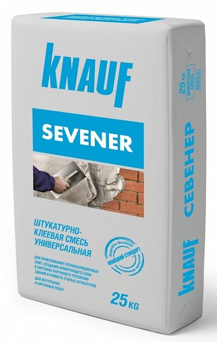 Купить Штукатурно-клеевая смесь Knauf Sevener, 25 кг — Фото №1