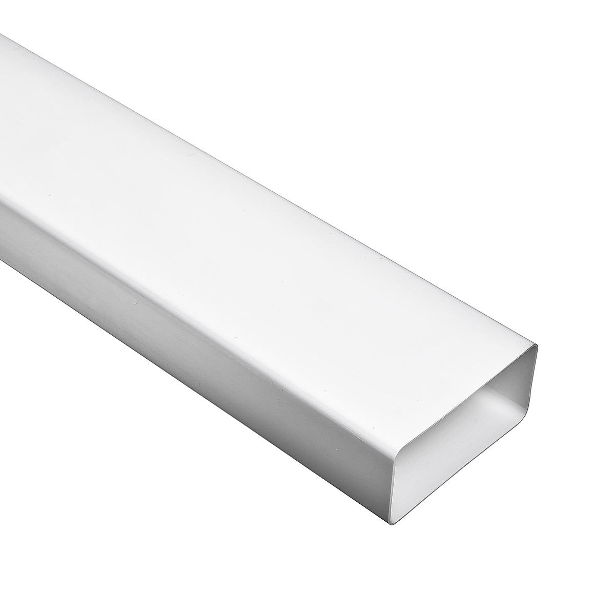 Купить Короб вентиляционный пластиковый, размер 55х110 мм (2 м) — Фото №1