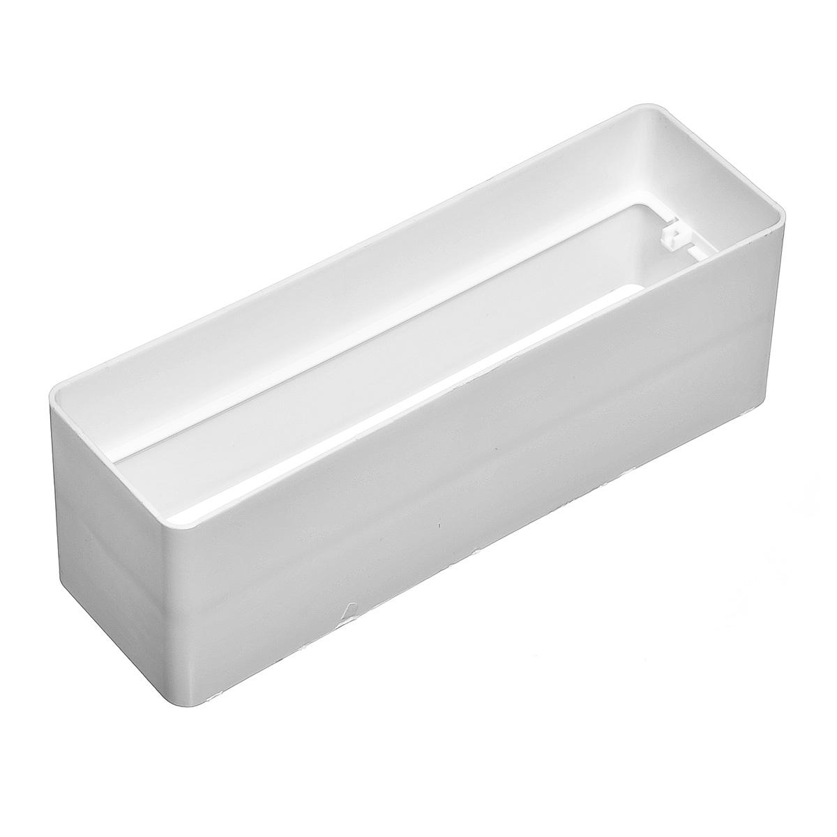 Купить Соединитель для вентиляционных коробов пластиковый, размер 60х204 мм — Фото №1
