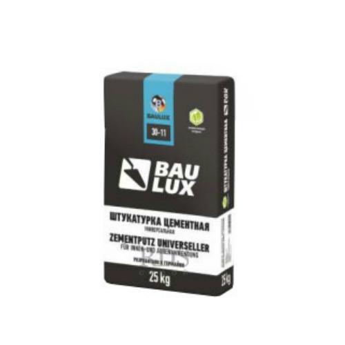 Baulux 30-11, 25 кг, Штукатурка цементная