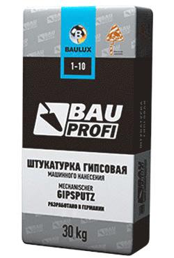 Bauprofi 1-10, 30 кг, Штукатурка гипсовая для машинного нанесения