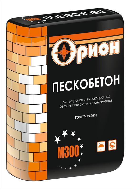 Купить Пескобетон Орион М300, 40 кг — Фото №1