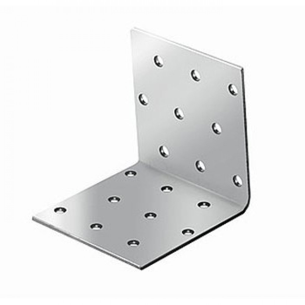 Купить Уголок крепежный равносторонний KUR 100х100х40 мм, толщина 2 мм — Фото №1